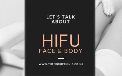 HIFU non-surgical facelift and skin tightening