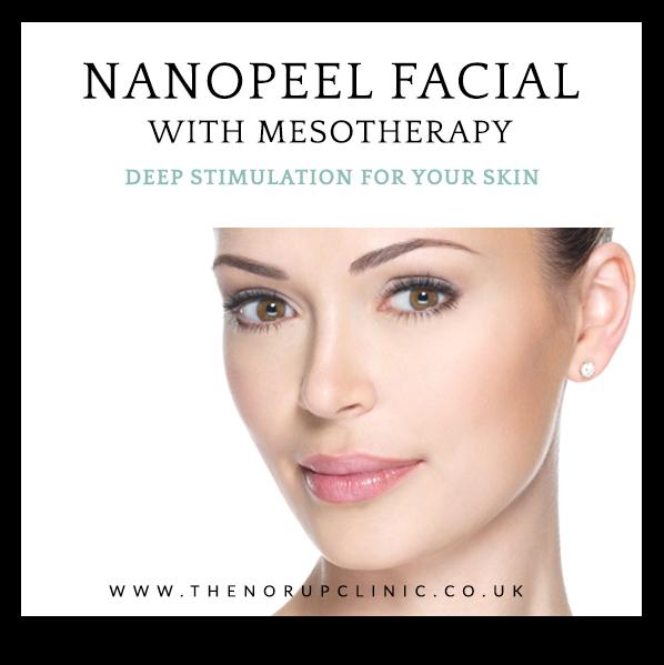 Nanopeel mesotherapy facial