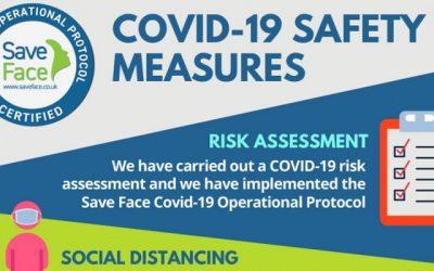 COVID-19 safe clinic