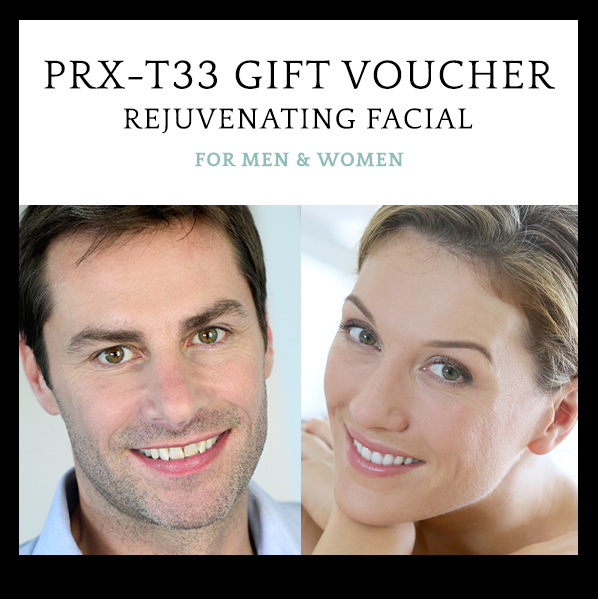 PRX-T33 facial gift voucher women and men